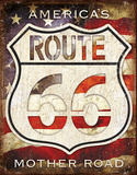 Rt. 66 - America's Road Tin Sign