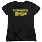 Womans: Hummer- H2 Block Logo T-shirts