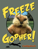 Caddyshack - Freeze Gopher Tin Sign