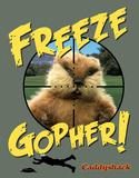 Caddyshack - Freeze Gopher Tin Sign
