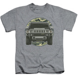 Juvenile: Hummer- Lead Or Follow Camo Patch T-shirts