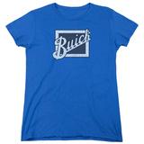 Womens: Buick- Distressed Block Grill T-Shirt