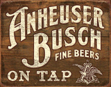 Anheuser- Busch - Fine Beers Tin Sign