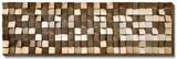 Refractions Skyscraper  - Dimensional Wood Art Prints