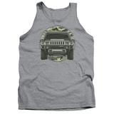Tank Top: Hummer- Lead Or Follow Camo Patch Tank Top