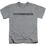 Juvenile: Hummer- Distressed Hummer Logo T-Shirt