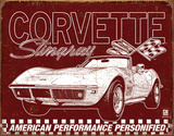 Corvette - 69 StingRay Tin Sign
