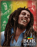 Bob Marley - Mosaic Tin Sign