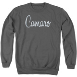 Crewneck Sweatshirt: Chevrolet- Camaro Chrome Script Shirt