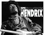 Jimi Hendrix - Music High Tin Sign