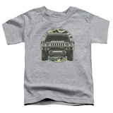 Toddler: Hummer- Lead Or Follow Camo Patch T-shirts