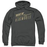 Hoodie: Oldsmobile- Retro Rocket 88 Logo Pullover Hoodie