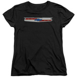 Womans: Chevrolet- 56 Bel Air Shield T-shirts