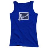 Juniors Tank Top: Buick- Distressed Block Grill T-shirts