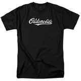 Oldsmobile- Distressed Script Logo T-shirts