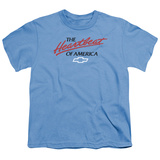 Youth: Chevrolet- Heartbeat Of America T-shirts