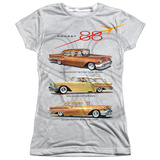 Juniors: Oldsmobile- Delta 88 Golden Rockets Womens Sublimated