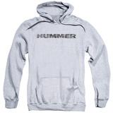 Hoodie: Hummer- Distressed Hummer Logo Pullover Hoodie
