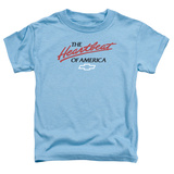 Toddler: Chevrolet- Heartbeat Of America Shirt