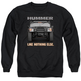 Crewneck Sweatshirt: Hummer- Like Nothing Else T-shirts