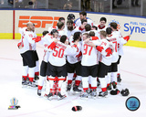 Team Canada Team Celebration 2016 World Cup of Hockey Photo