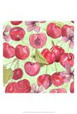 Cherry Medley I Prints by Leslie Mark