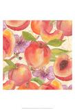 Peach Medley I Prints by Leslie Mark