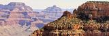 Grand Canyon Panorama V Print by Sylvia Coomes