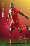 Liverpool F.C.- Mane 16/17 Kunstdrucke