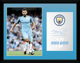 Man City - Aguero 16/17 Collector Print