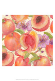 Peach Medley II Poster by Leslie Mark