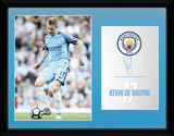 Man City - De Bruyne 16/17 Collector-tryk