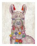 Festival Llama I Poster by Chariklia Zarris