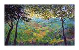 Vineyard View Giclee Print by Erin Hanson