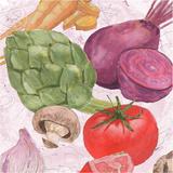 Veggie Medley I Prints by Leslie Mark