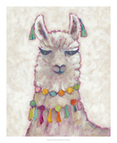 Festival Llama II Prints by Chariklia Zarris