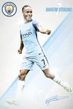 Manchester City- Raheem Sterling 16/17 Print