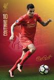 Liverpool F.C.- Coutinho 16/17 Plakaty