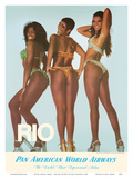 Rio De Janeiro, Brazil - Oba-Oba (Oh Boy! Oh Boy!) Dancers Posters by  Pacifica Island Art