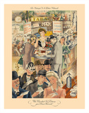 French National Loterie (La Nationale Loterie) Giclée-tryk af Louis Ferrand