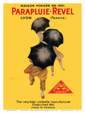 Parapluie-Revel - The Very Best Umbrella Manufacturer - Established 1851 Prints by Leonetto Cappiello