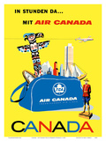 Canada - Air Canada TCA (Trans-Canda Air Lines) Posters by Roberto Floreani