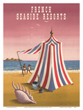 French Seaside Resorts Prints by Jean Picart le Doux