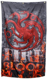 Game of Thrones- Targaryen Fire and Blood Banner Affiches