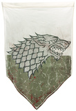 Game of Thrones- Stark Battle Distressed Banner Print