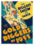 Gold Diggers of 1933 - Starring Warren William and Joan Blondell Posters by  Pacifica Island Art