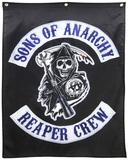 Sons of Anarchy- Reaper Crew Banner Posters