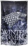Game of Thrones- Stark Winter is Coming Banner Kunstdrucke