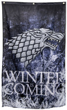 Game of Thrones- Stark Winter is Coming Banner Print