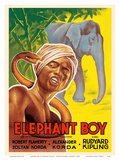 Elephant Boy by Rudyard Kipling - Starring Robert Flaherty Posters by  Pacifica Island Art